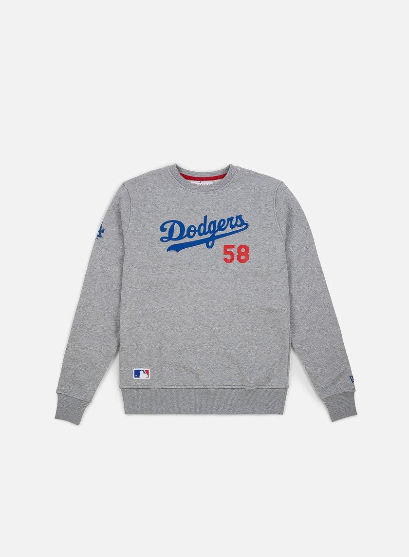New Era Team Apparel Script Crewneck Los Angeles Dodgers