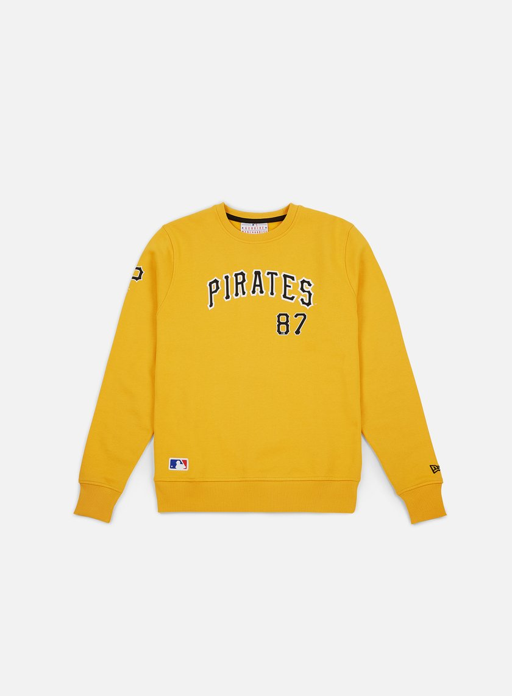 New Era Team Apparel Script Crewneck Pittsburgh Pirates