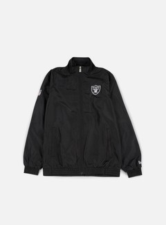New Era - Team Apparel Track Jacket Oakland Raiders, Black 1