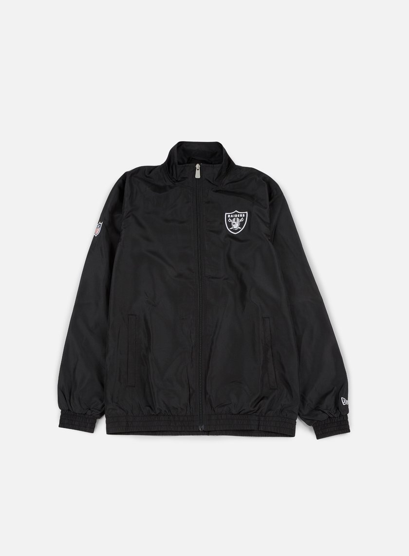 New Era - Team Apparel Track Jacket Oakland Raiders, Black