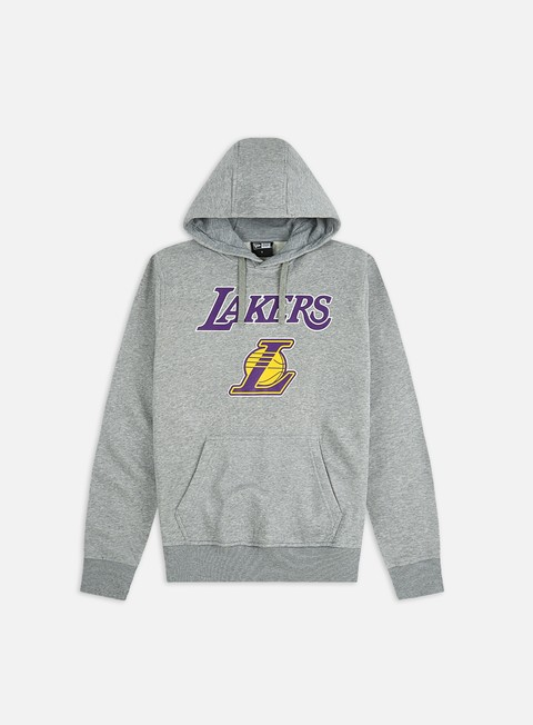 New Era Team Logo Hoodie LA Lakers
