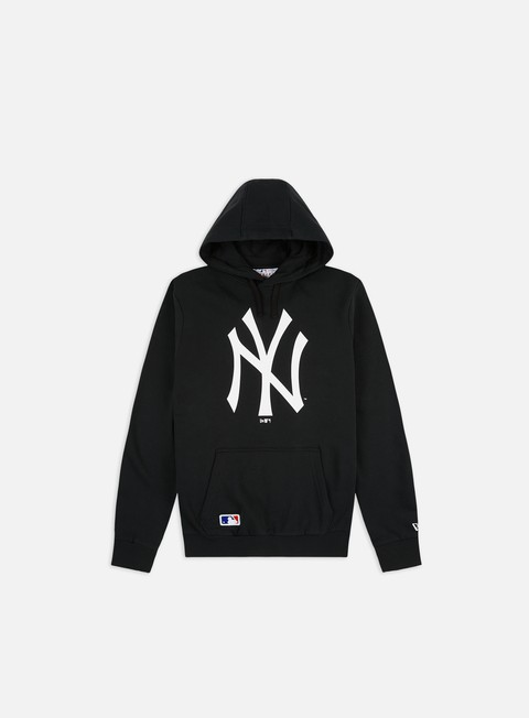 Outlet e Saldi Felpe con Cappuccio New Era Team Logo Hoodie NY Yankees
