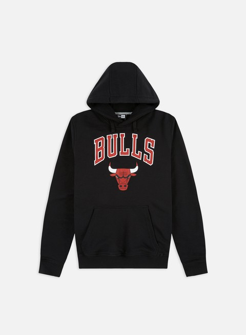 felpe new era team logo hoody chicago bulls black