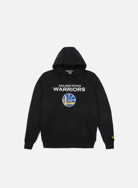 felpe new era team logo hoody golden state warriors black