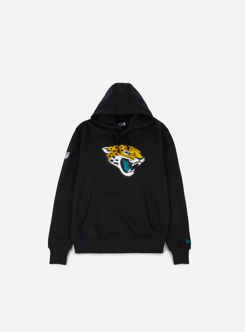 felpe new era team logo hoody jacksonville jaguars black
