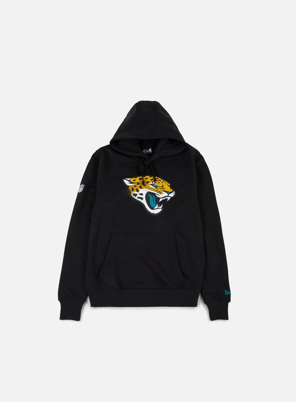 New Era - Team Logo Hoody Jacksonville Jaguars, Black