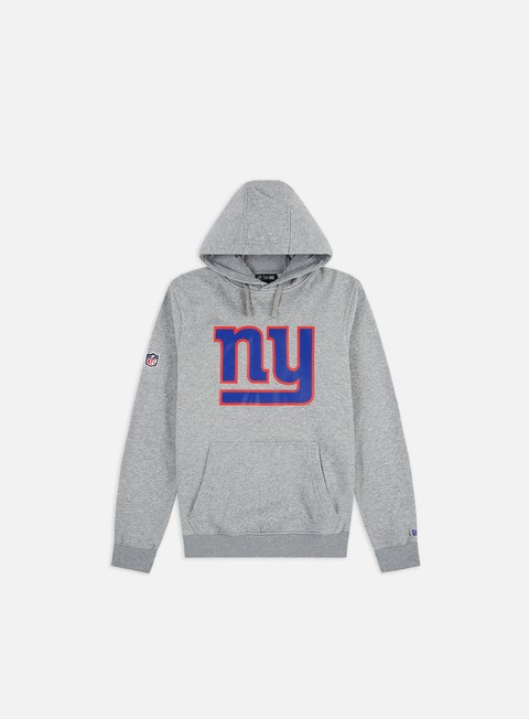 felpe new era team logo hoody ny giants heather grey