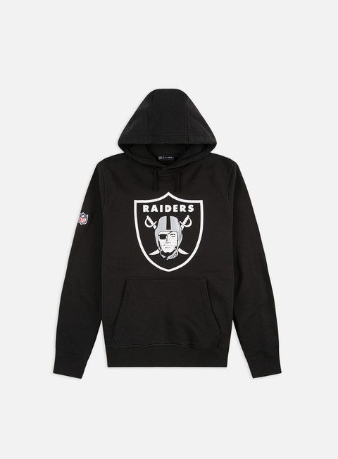 felpe new era team logo hoody oakland raiders black