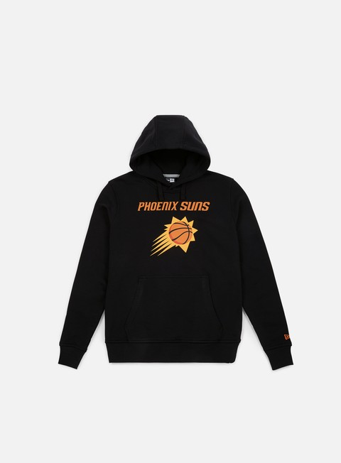 felpe new era team logo hoody phoenix suns black