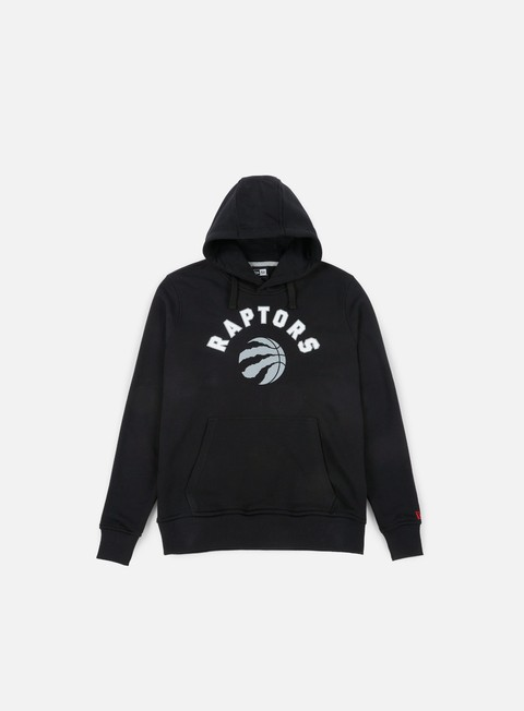 felpe new era team logo hoody toronto raptors black