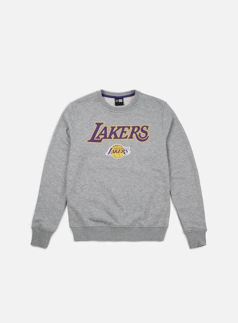 Sale Outlet Crewneck Sweatshirts New Era Tip Off Crewneck LA Lakers