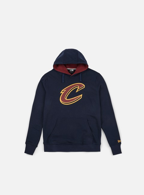 felpe new era tip off hoody cleveland cavaliers team colors