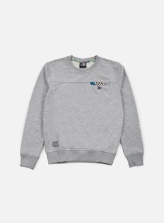 New Era - Walala Crewneck, Light Grey Heather 1