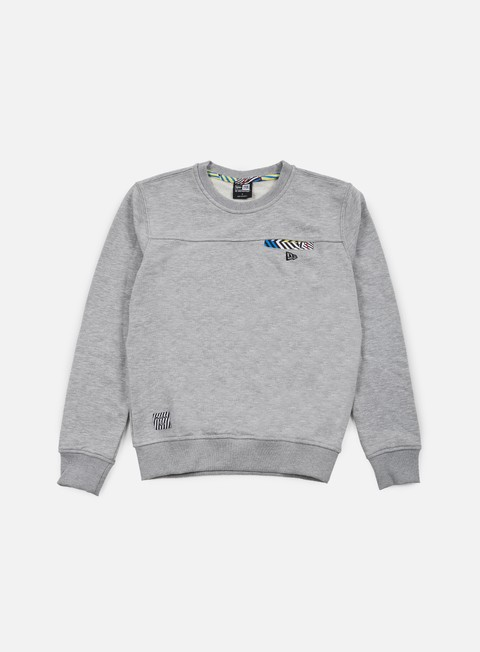 felpe new era walala crewneck light grey heather