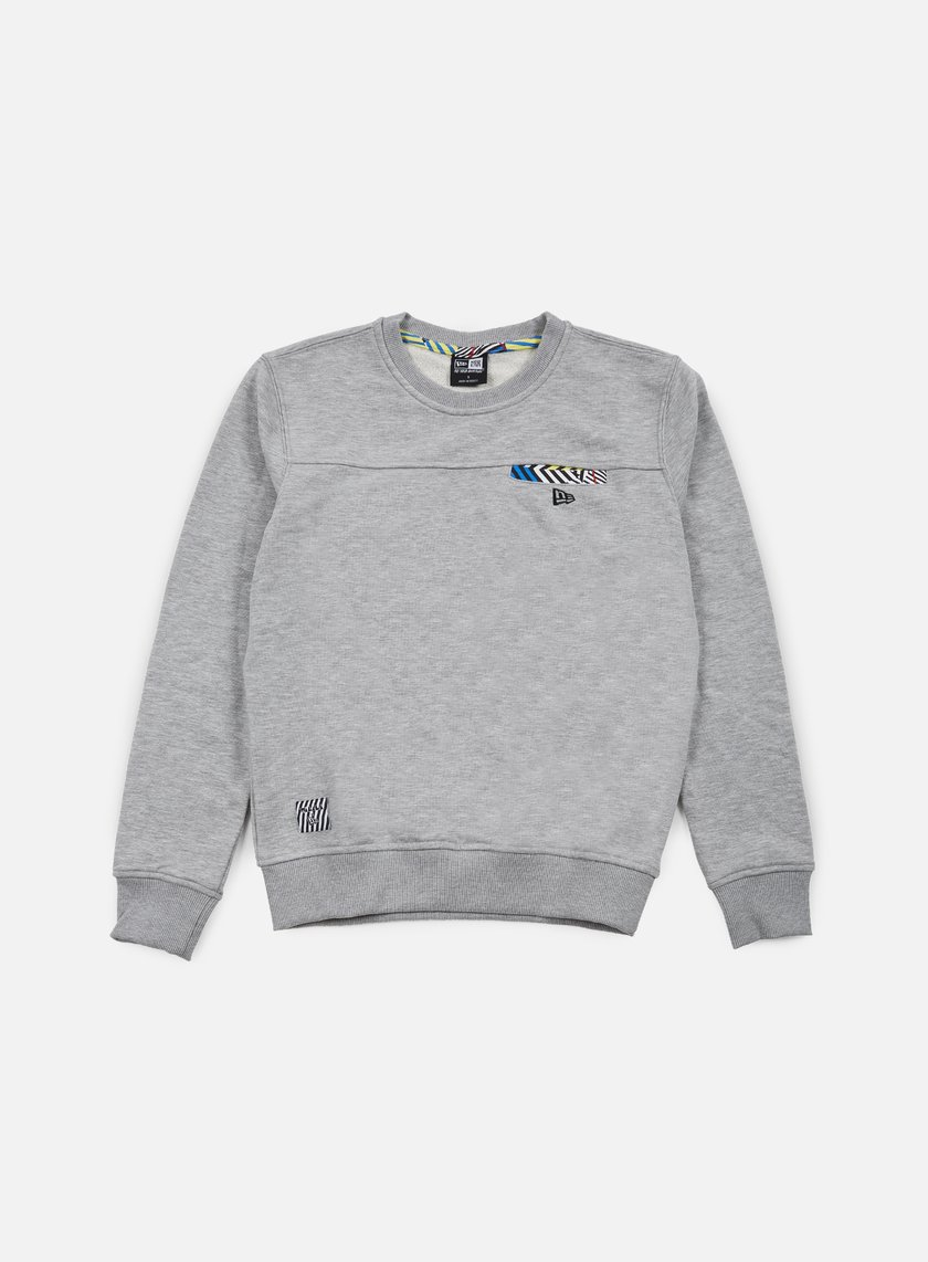 New Era - Walala Crewneck, Light Grey Heather