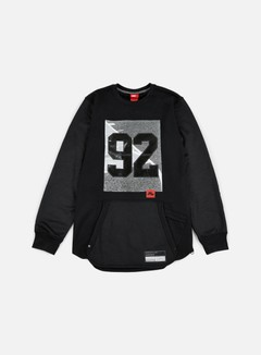Nike - 92 Air Crewneck, Black/Black