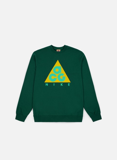 felpe nike acg flc crewneck dark atomic teal dark atomic teal