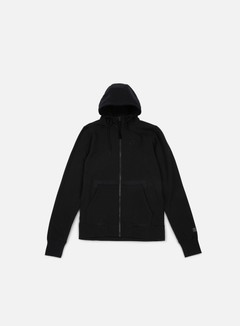 Nike - AF1 Full Zip Hoodie, Black/Black