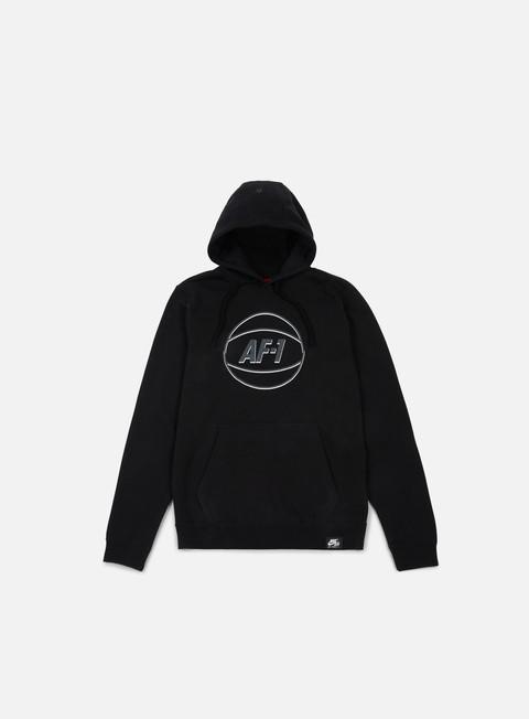 felpe nike af1 hoodie black