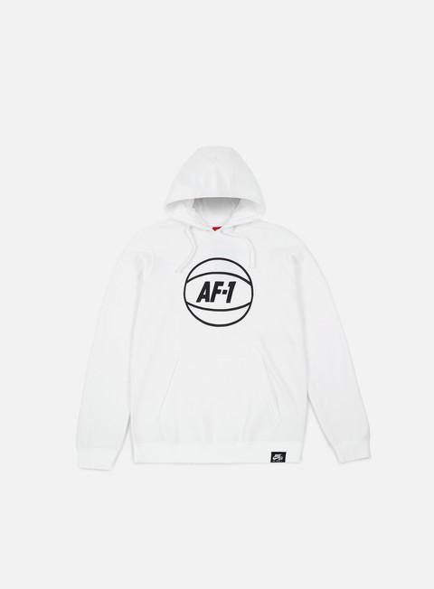 felpe nike af1 hoodie white
