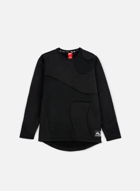 felpe nike air crewneck black