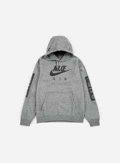 Nike - Air Max Hoodie, Carbon Heather/Anthracite 1