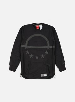 Nike - Air Pivot V3 Crewneck, Black/Black