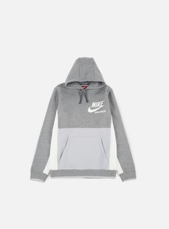 Nike - Archive Hoodie, Carbon Heather/Wolf Grey