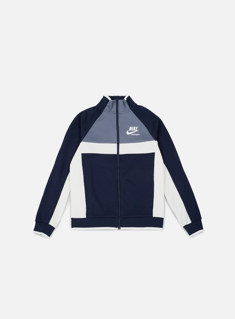 Outlet e Saldi Felpe con Zip Nike Archive PK Track Jacket