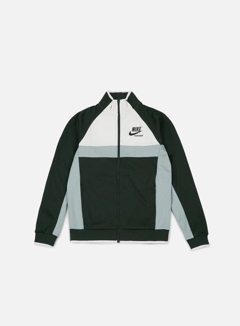 felpe nike archive pk track jacket outdorr green black