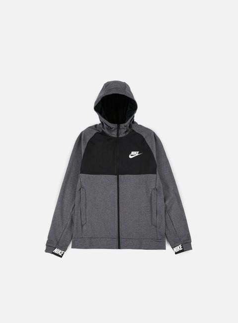 Felpe con Cappuccio Nike AV15 Full Zip Hoodie