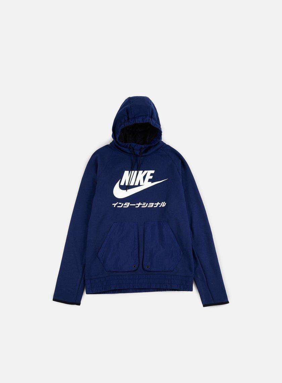 Nike - International Hoodie, Binary Blue
