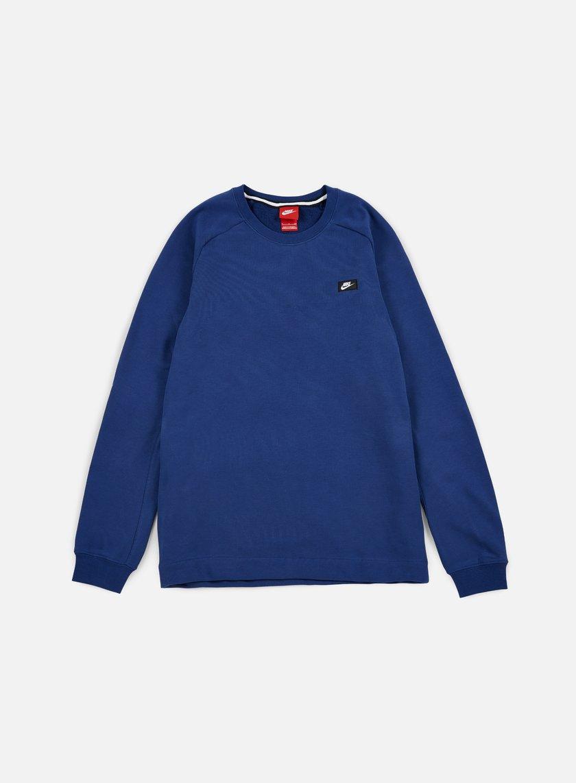 Nike - Modern Crewneck, Coastal Blue