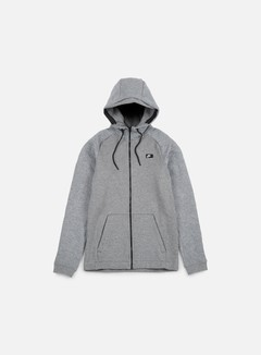 Nike - Modern Full Zip Hoodie BB, Carbon Heather 1