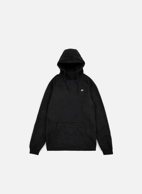 felpe nike modern hoodie black