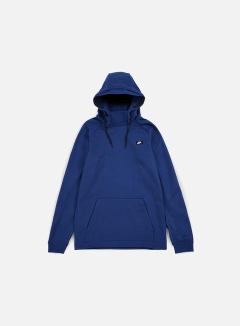 felpe nike modern hoodie coastal blue