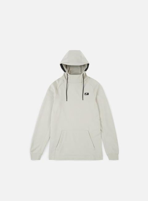 felpe nike modern hoodie light bone