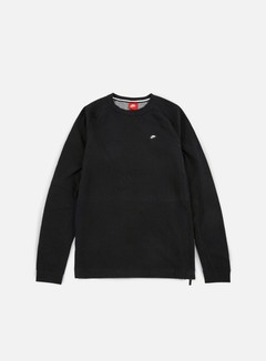 Nike - Modern Lite Crewneck, Black/Carbon Heather 1