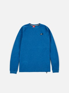 Nike - Modern Lite Crewneck, Industrial Blue/Heather