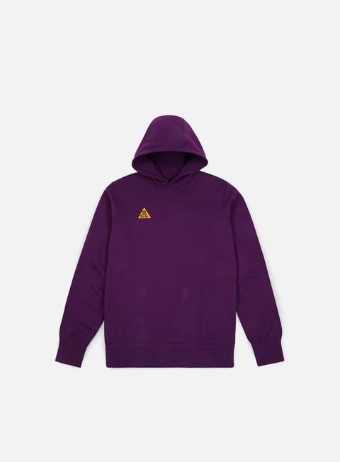 felpe nike nsw acg pullover hoodie night purple