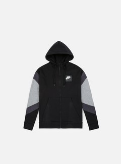 Nike - NSW Air Hoodie, Black/Anthracite
