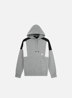 Nike - NSW BB CB Hoodie, Dark Grey Heather/White/Black/White