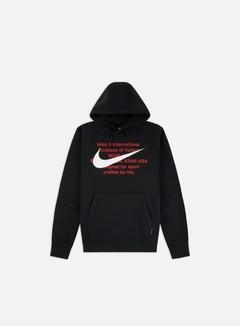 Nike - NSW BB Swoosh Hoodie, Black/White