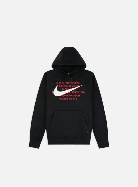 Felpe con Cappuccio Nike NSW BB Swoosh Hoodie