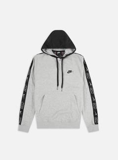 Nike - NSW CE FT SNL Hoodie, Grey Heather/Black/Black/Black