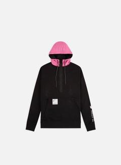 Nike - NSW CJ Half Zip Hoodie, Black/Pinksicle