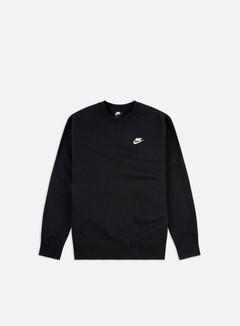Nike - NSW Club Crewneck, Black/White