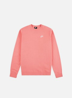 Nike - NSW Club Crewneck, Pink Gaze/White