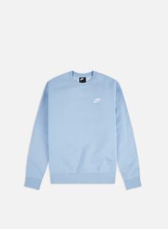 Nike - NSW Club Crewneck, Psychic Blue/White