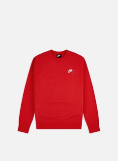 Nike - NSW Club Crewneck, University Red/White